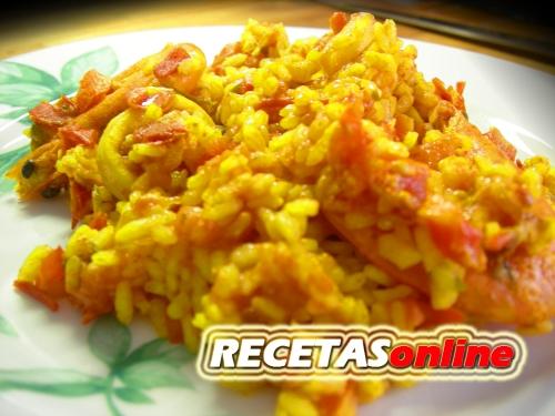 Paella - Recetas de cocina RECETASonline