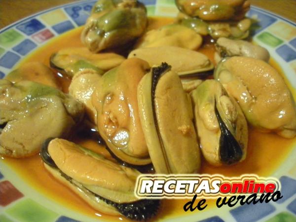 Mejillones en escabeche - Recetas de cocina RECETASonline