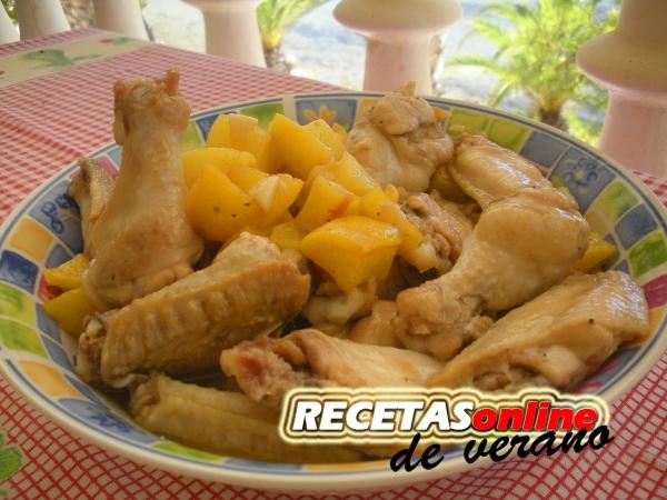 Pollo a la marinera - Recetas de cocina RECETASonline
