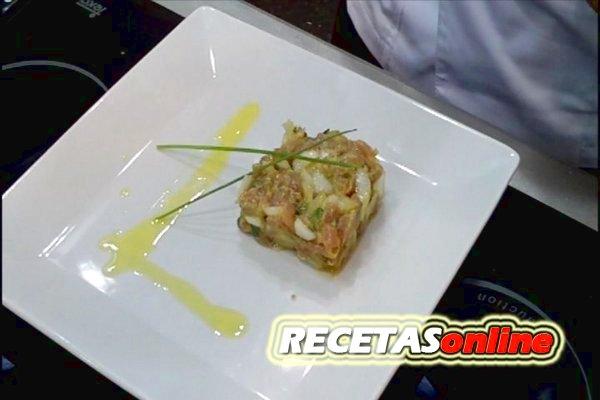 Tartar de atún  - Recetas de cocina RECETASonline