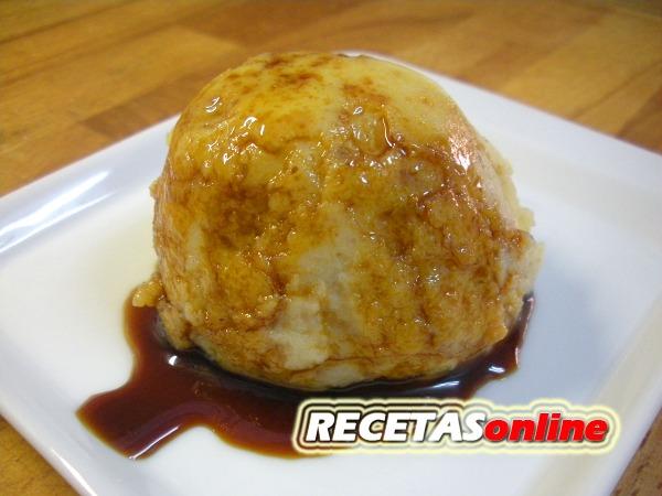 Flan de queso al microondas - Recetas de cocina RECETASonline