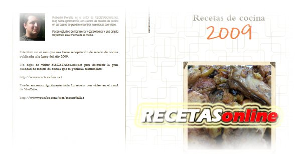 Libro de recetas 2009 - RECETASonline