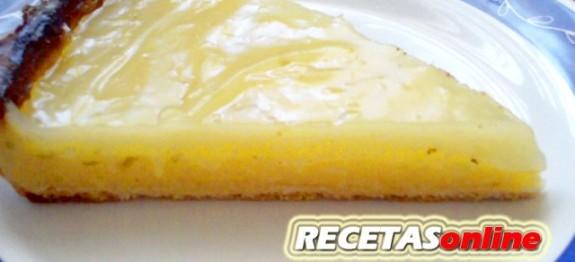 Tarta de lima y limón - Recetas de cocina RECETASonline