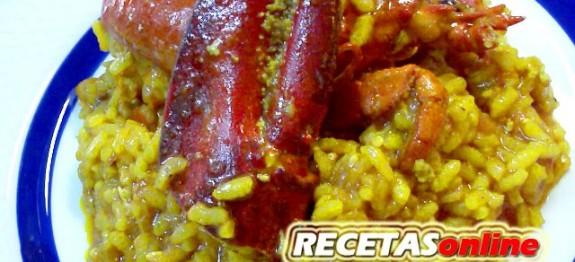 Arroz con bogavante - Recetas de cocina RECETASonline