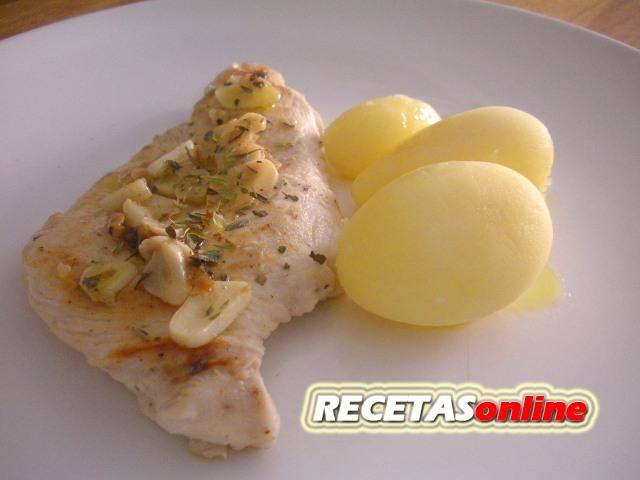 Pollo macerado con jenjibre, limón y ajo - Recetas de cocina RECETASonline
