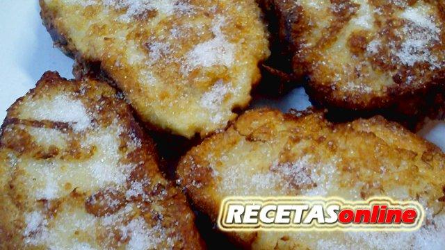 Torrijas con pan de leche - Recetas de cocina RECETASonline