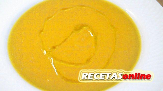 Crema de zanahoria - Recetas de cocina RECETASonline
