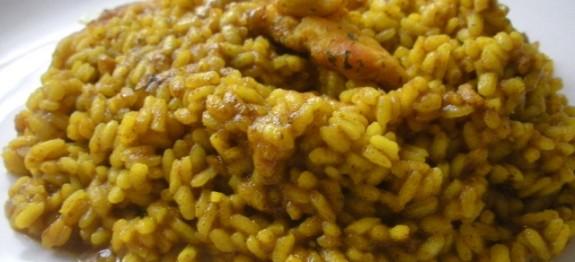 Arroz con pollo al curry - Recetas de cocina RECETASonline
