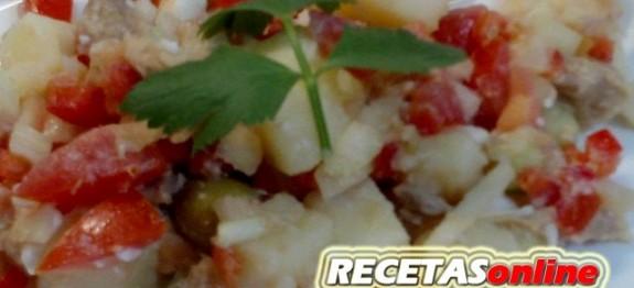 Ensalada campera - Recetas de cocina RECETASonline