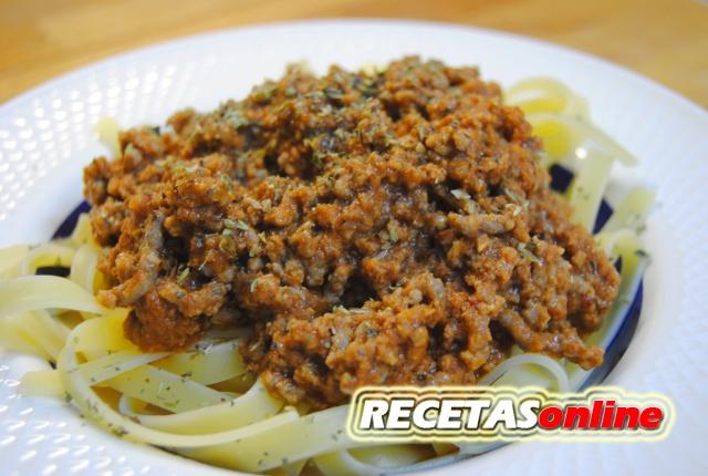 Fetuccini a la inglesa - Recetas de cocina RECETASonline