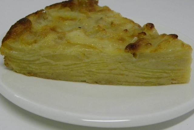 Tarta milhojas de manzanas y peras - M. Luz - Recetas de cocina RECETASonline