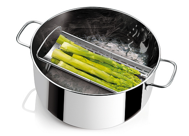 Curso de cocina parte 12 cocci n al vapor for Recipientes para cocinar al vapor