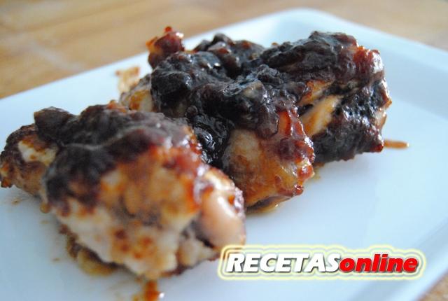 Alitas de pollo a la barbacoa - Recetas de cocina RECETASonline