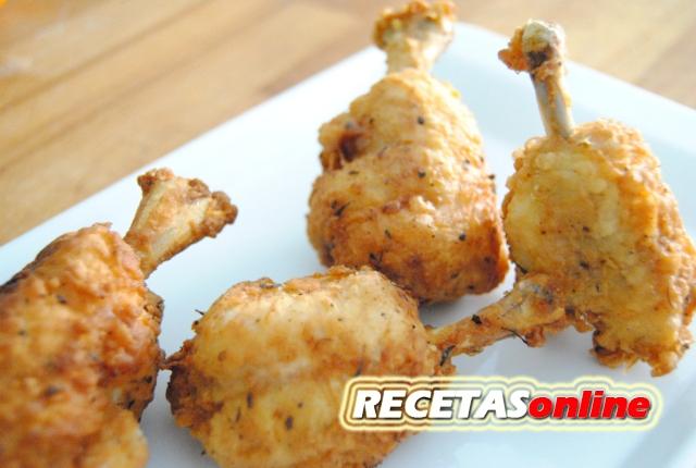 Bolitas de pollo al estilo del coronel - Recetas de cocina RECETASonline