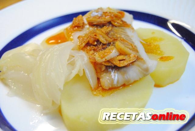 Abadejo a la gallega - Recetas de cocina RECETASonline