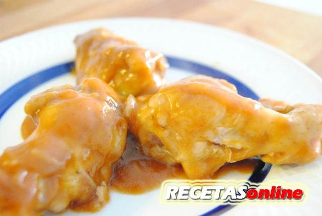 Alitas de pollo a la brava - Recetas de cocina RECETASonline