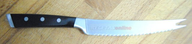 Cuchillo de sierra - Recetas de cocina RECETASonline