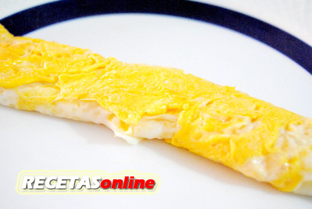 Tortilla dulce - Recetas de cocina RECETASonline