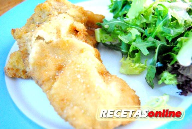Filete empanado o empanizado - Recetas de cocina RECETASonline