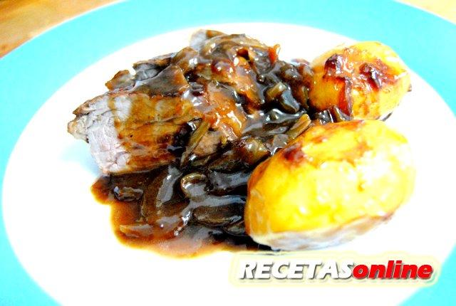 Solomillo de cerdo al Pedro Ximénez - Recetas de cocina RECETASonline