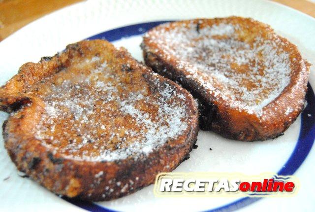 Torrijas de leche tradicionales - Recetas de cocina RECETASonline