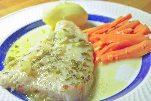 Como Cocinar Panga | Panga En Salsa Verde Con Patata Y Zanahoria Todo Cocinado En
