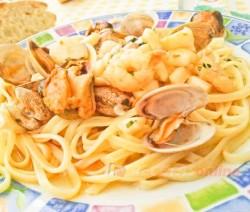 Tallarines a la marinera - Recetas de cocina RECETAS online
