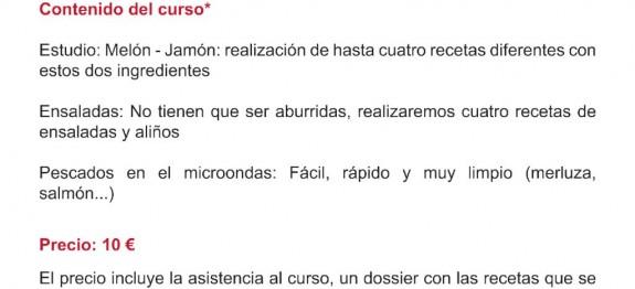 Curso de cocina tienda Tescoma Madrid