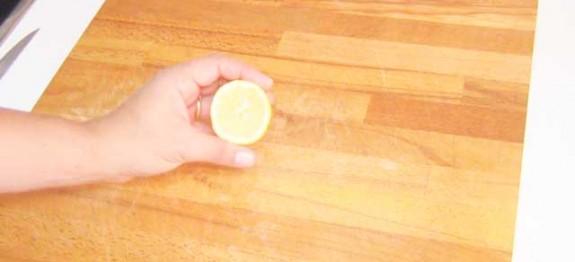 C mo limpiar tu tabla de cortar de madera - Limpiar cocina de madera ...