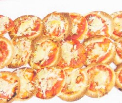 Mini pizzas rápidas