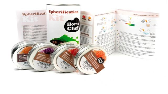Kit esferificación y cocina molecular
