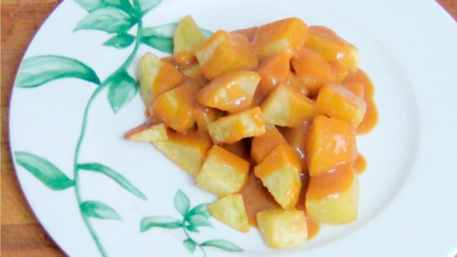Patatas bravas auténticas